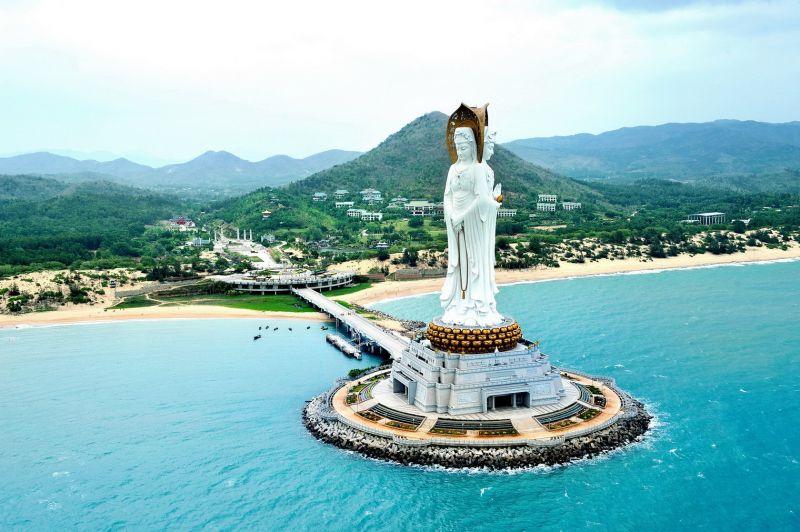 南山觀音(圖片來源─海南省旅遊局)