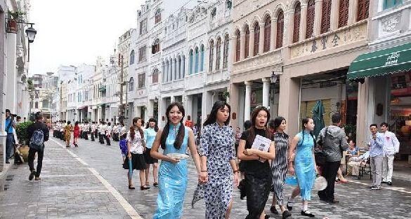 騎樓老街(圖片來源─海南省旅遊局)