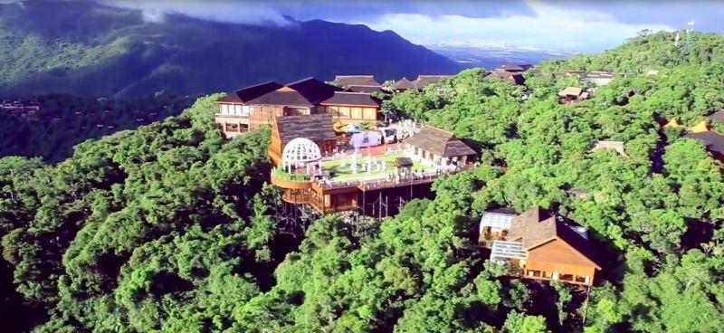 鳥巢渡假村(圖片來源─海南省旅遊局)