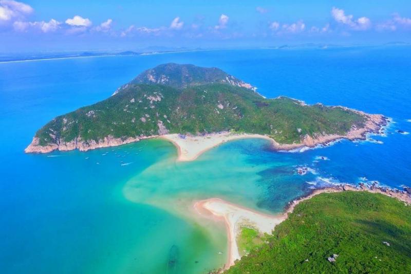 大洲島(圖片來源─海南省旅遊局)