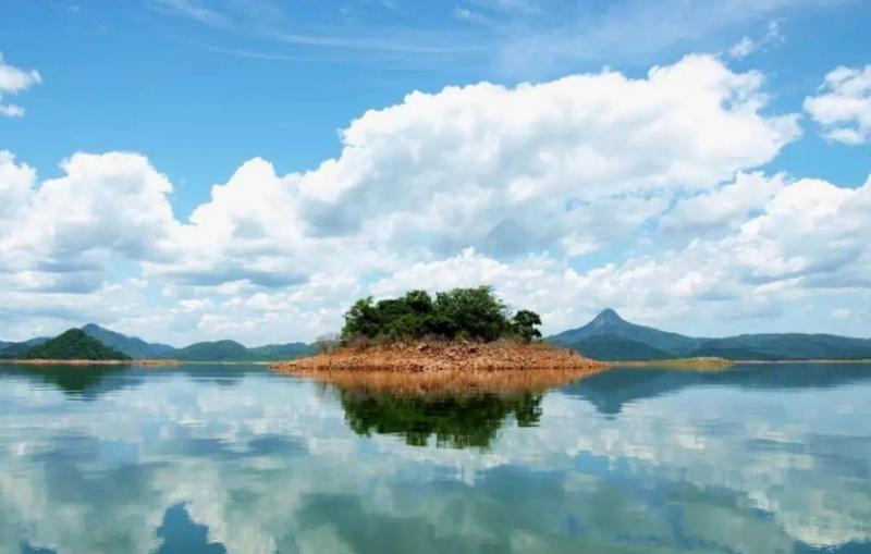 松濤水庫(圖片來源─海南省旅遊局)