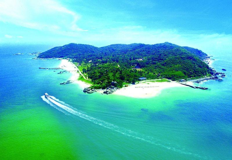 蜈支洲島(圖片來源─海南省旅遊局)