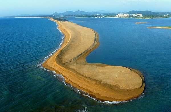 玉帶灘(圖片來源─百度)