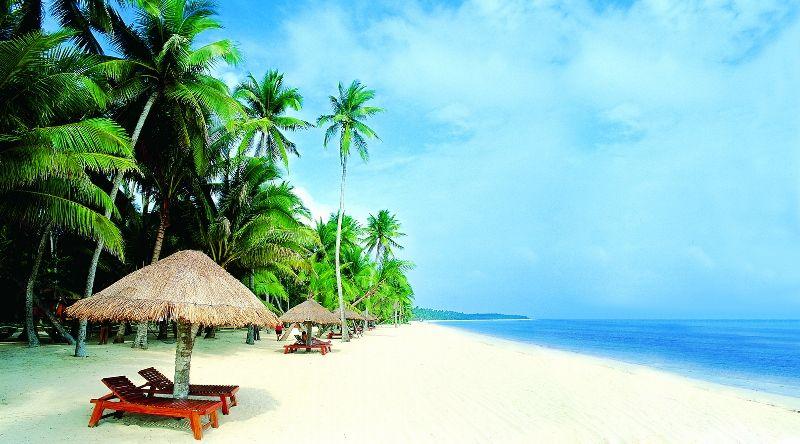 東郊椰林(圖片來源─海南省旅遊局)