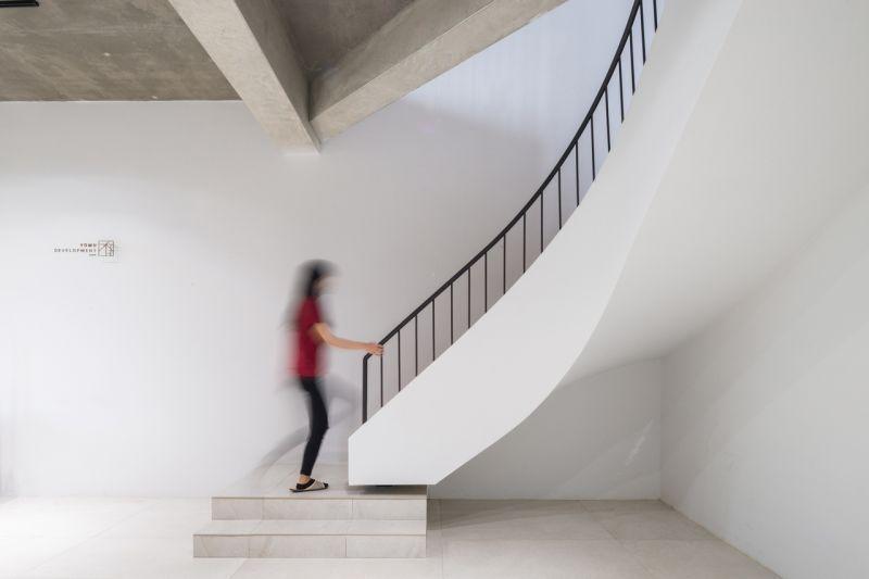 一樓樓梯攝影:Studio Millspace 揅空間工作室/Lucas K. Doolan
