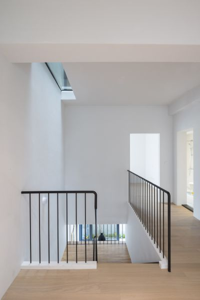 樓梯與天窗;攝影:Studio Millspace 揅空間工作室/Lucas K. Doolan