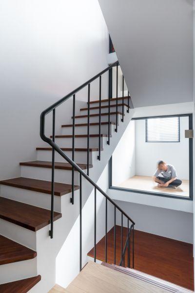 樓梯間;攝影:Studio Millspace 揅空間工作室/Lucas K. Doolan