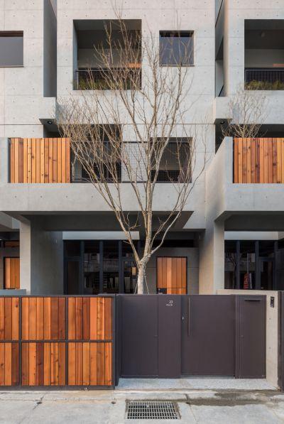 植栽與建築;攝影:Studio Millspace 揅空間工作室/Lucas K. Doolan