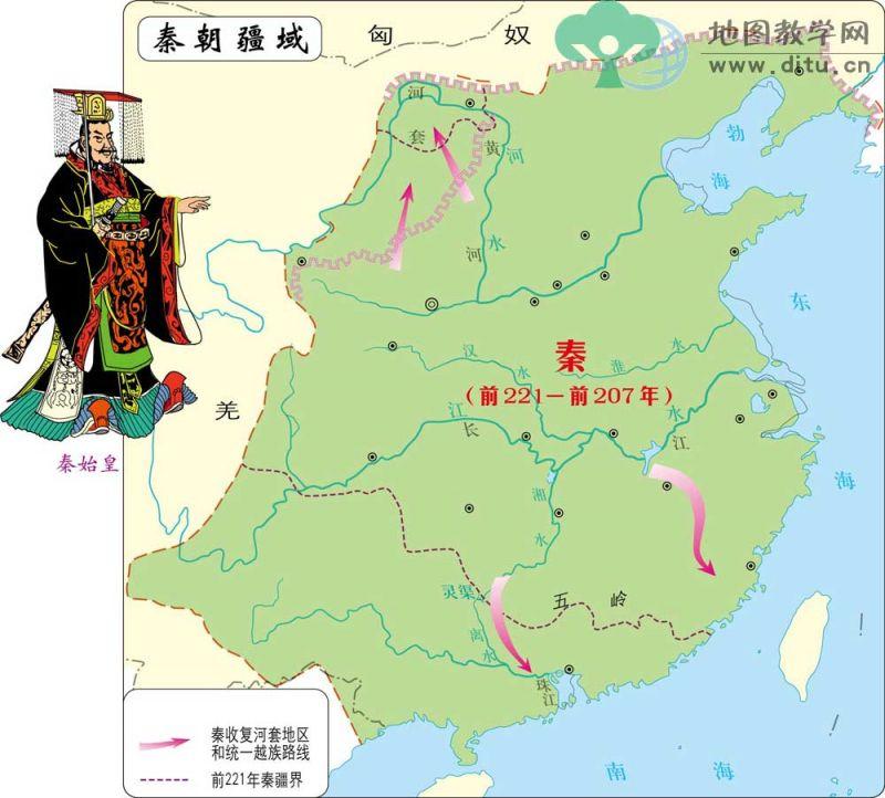 秦始皇是第一個砸下大錢與人力,修建長城抵禦外族的皇帝。(圖片來源http://bit.ly/2ndCOj6)