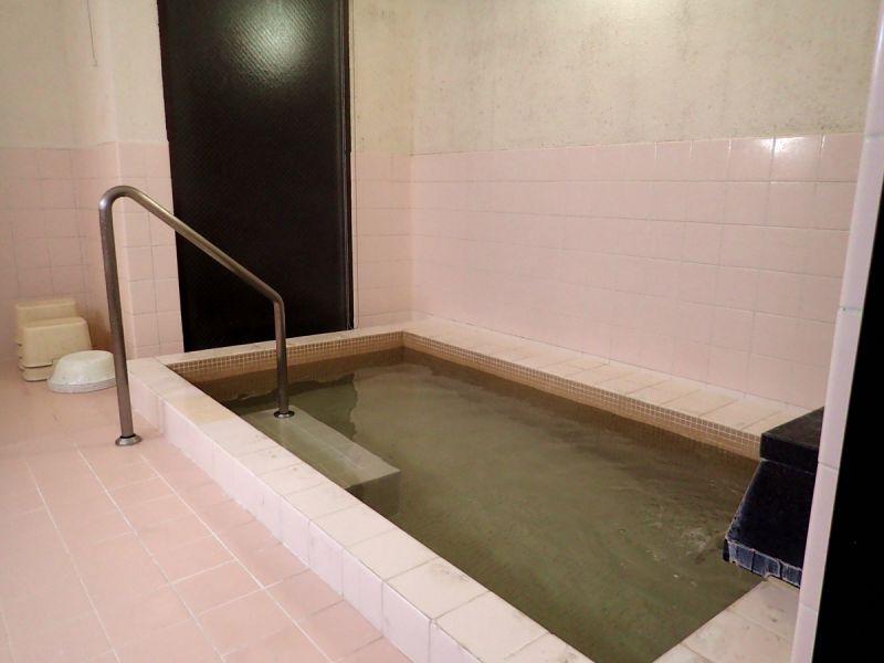 月山渡假山莊 澡堂(娜塔蝦 攝)