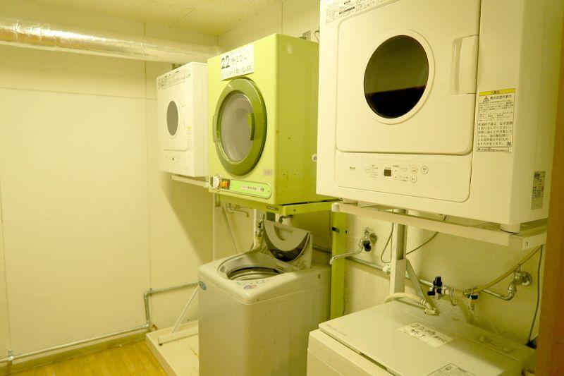 月山渡假山莊 洗衣機(娜塔蝦 攝)