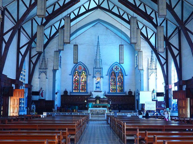 巴拉望-藍色大教堂