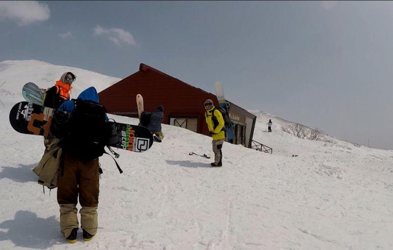 月山滑雪場 (娜塔蝦 攝)