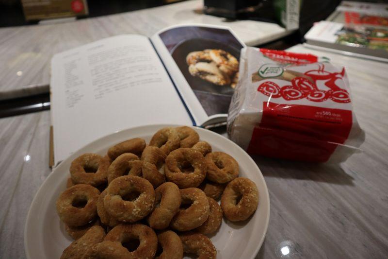 以色列人的果腹小零嘴-卡必馬許餅乾,目前台灣沒有販售(圖片來源:安潔拉)