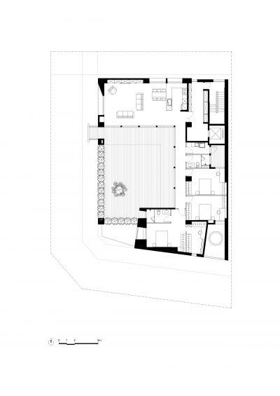 四層平面圖;圖面提供:張景堯建築師事務所