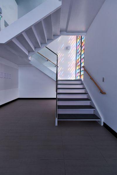 二樓上三樓主樓梯;攝影:曾群儒