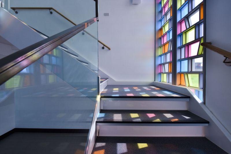 主樓梯平台;攝影:曾群儒
