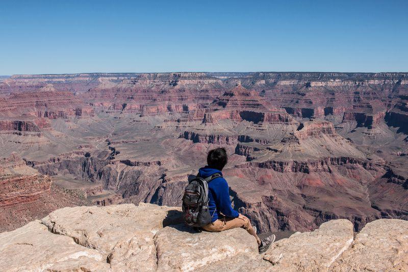 美國大峽谷的驚人風光。(圖片來源:Flickr CC授權作者LWYang)