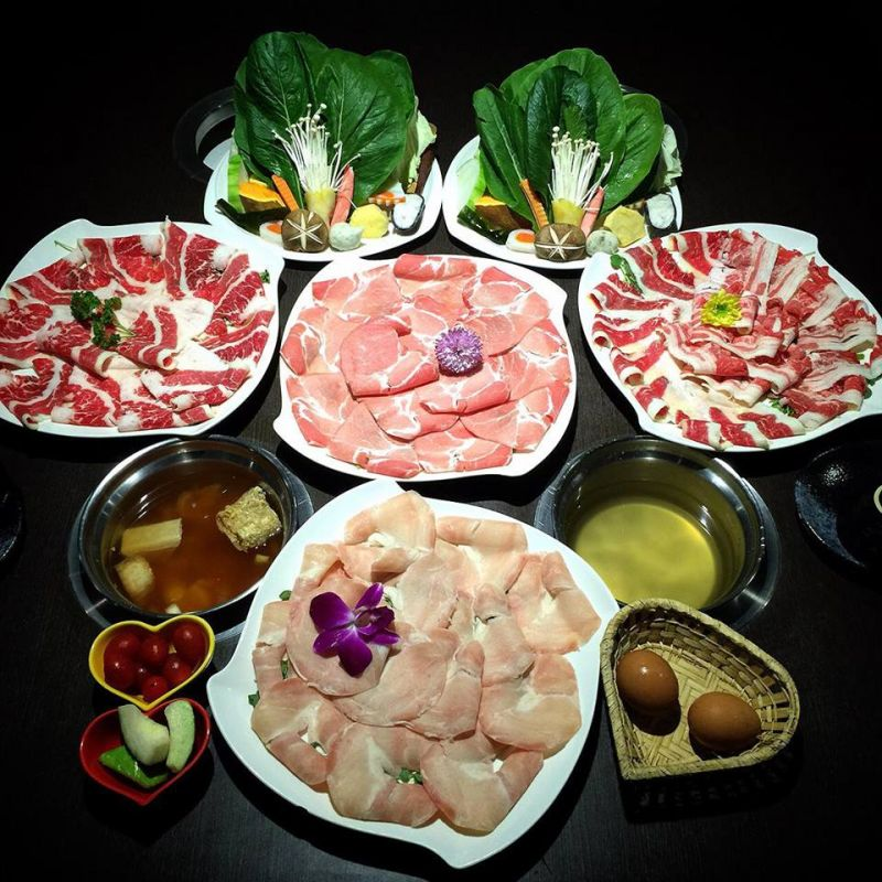 火鍋哥提供肉食者最愛的大份量肉盤。(圖片來自火鍋哥涮涮屋臉書)