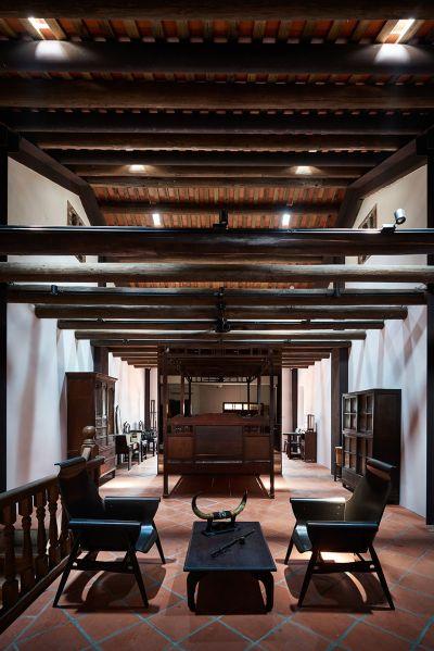 「葉晉發商號─米糧桁」三樓家屋空間;圖片提供:徐元智先生紀念基金會