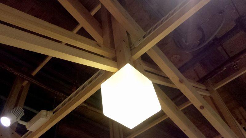 「葉晉發商號─米糧桁」前米行木構架系統;攝影:王進坤