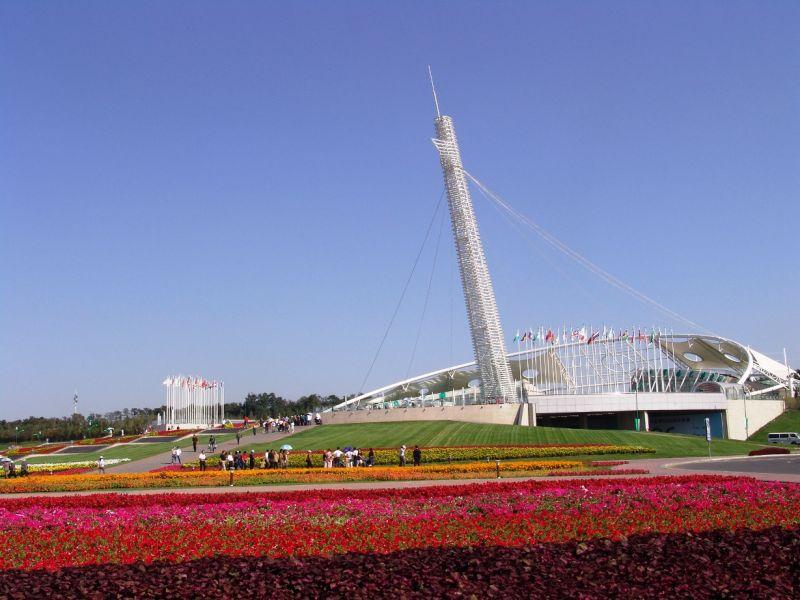 瀋陽世博園曾在2006年作為『世界園藝博覽會』的場地,至今仍是賞花重要景區。