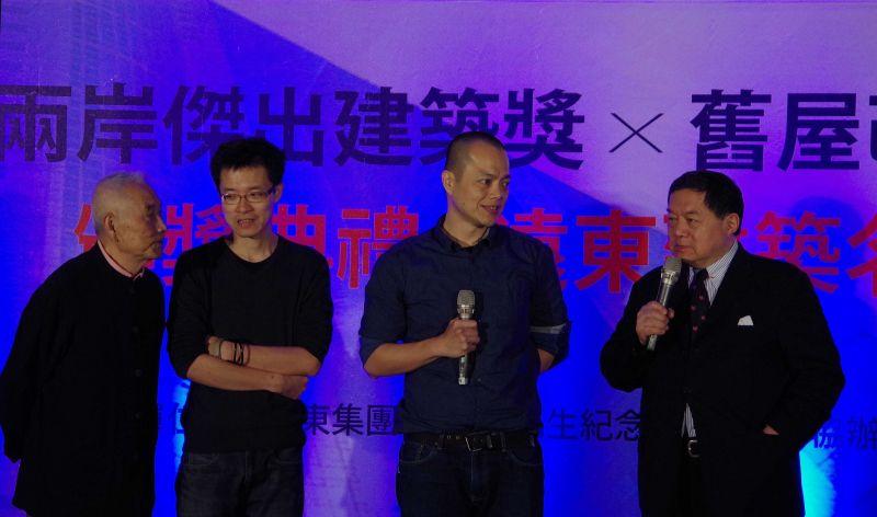 台灣首獎得獎建築師;攝影:王進坤