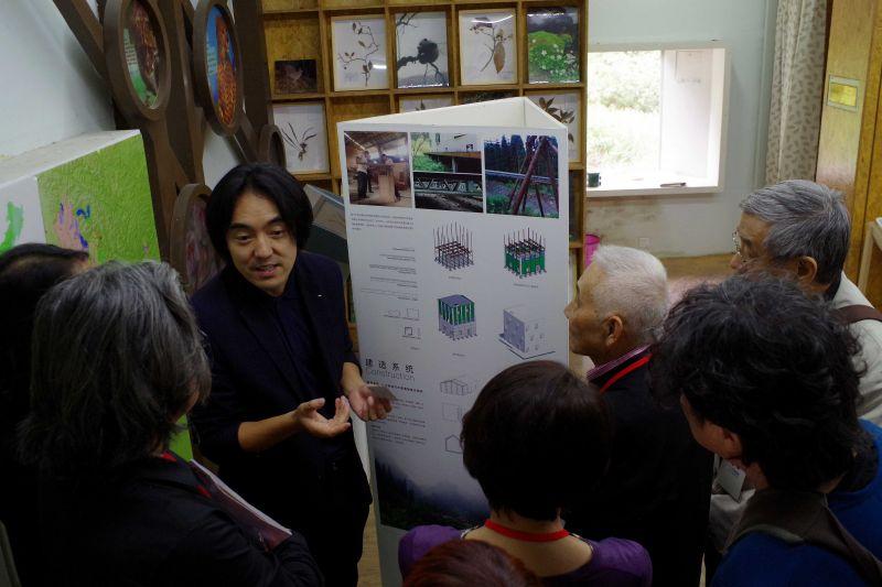 成都佳作─朱競翔作品「崇州鞍子河自然保護區宣教中心」;攝影:王進坤