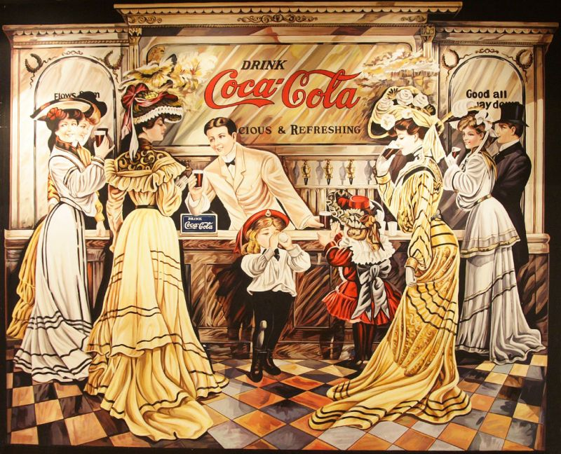 可口可樂世界一景(Flickr授權作者-Dean Lin)