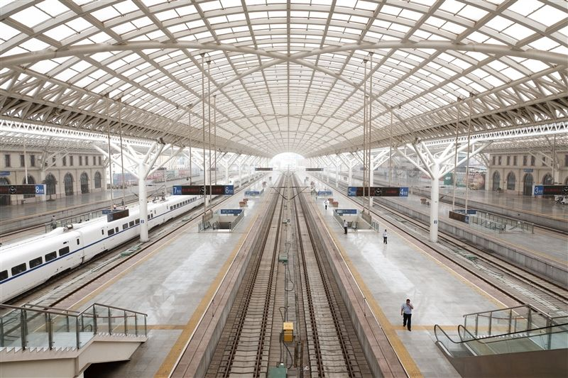 青島火車站站內景象(圖片/山東省旅遊局提供)
