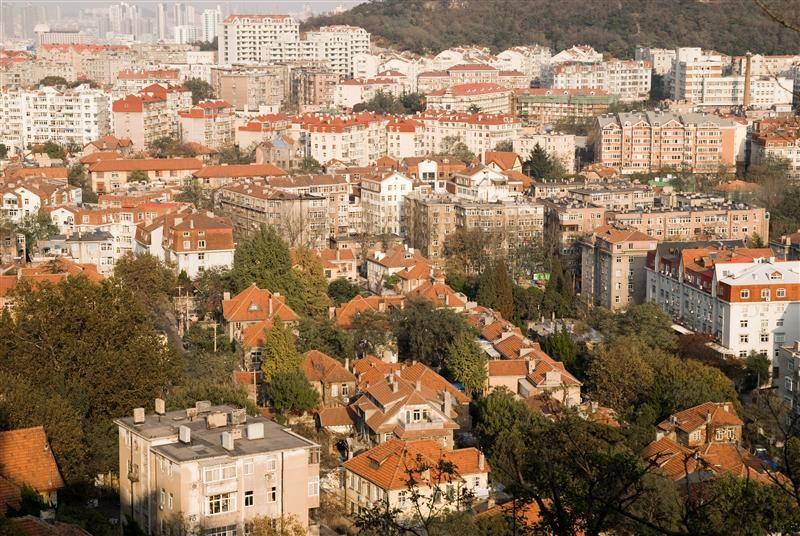 從信號山上遠眺的,一眼望去盡是歐風建築,飄散的濃濃的異國風情。(圖片/山東省旅遊局提供)