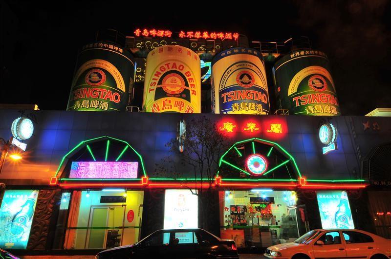 青島啤酒街全長約1000公尺,是青島啤酒的發祥地。(圖片/山東省旅遊局提供)
