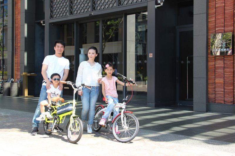 台南晶英酒店暑期「快樂新騎天」,住宿免抽獎,直接讓您把單車帶回家!(台南晶英酒店提供)