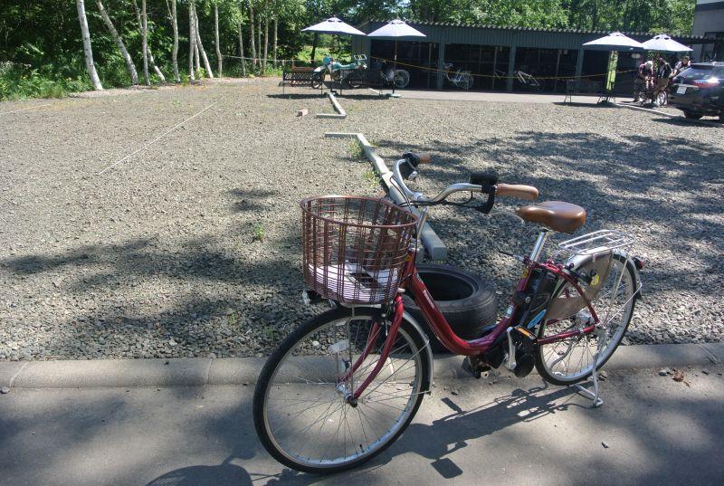 這次租的是,基本款電動腳踏車