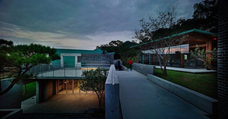 毓繡美術館/立聯合建築師建築事務所(立‧建築工作所);圖片提供/香港建築師學會
