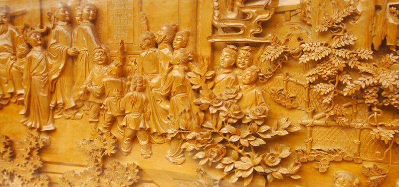 包公園的浮雕,讓天秤座笑看古今歷史。