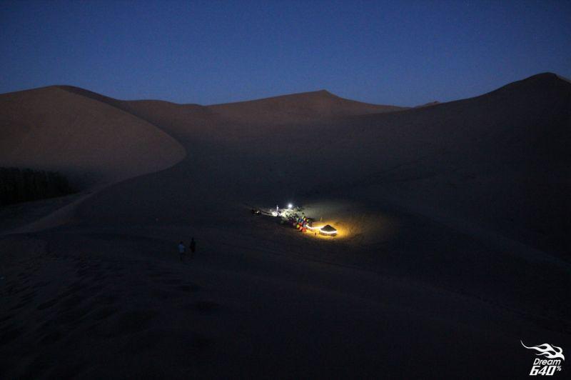 沙漠露營是非常難忘的回憶