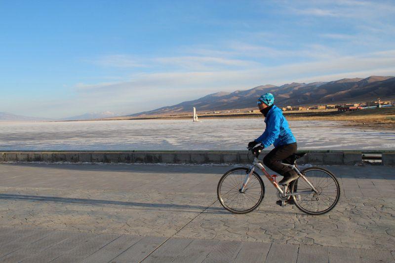 實地勘察─青海湖騎單車