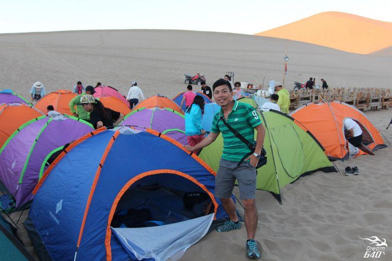 沙漠露營初體驗