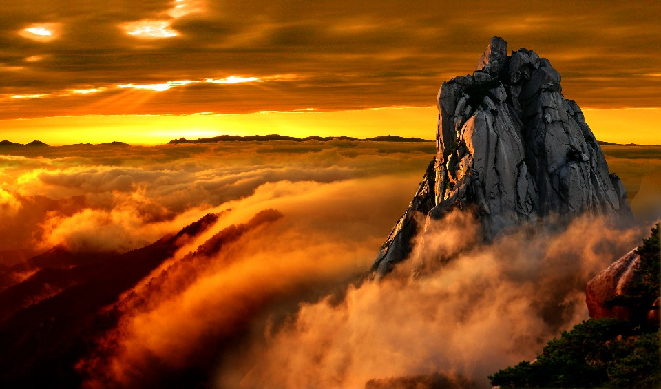 天柱山主峰