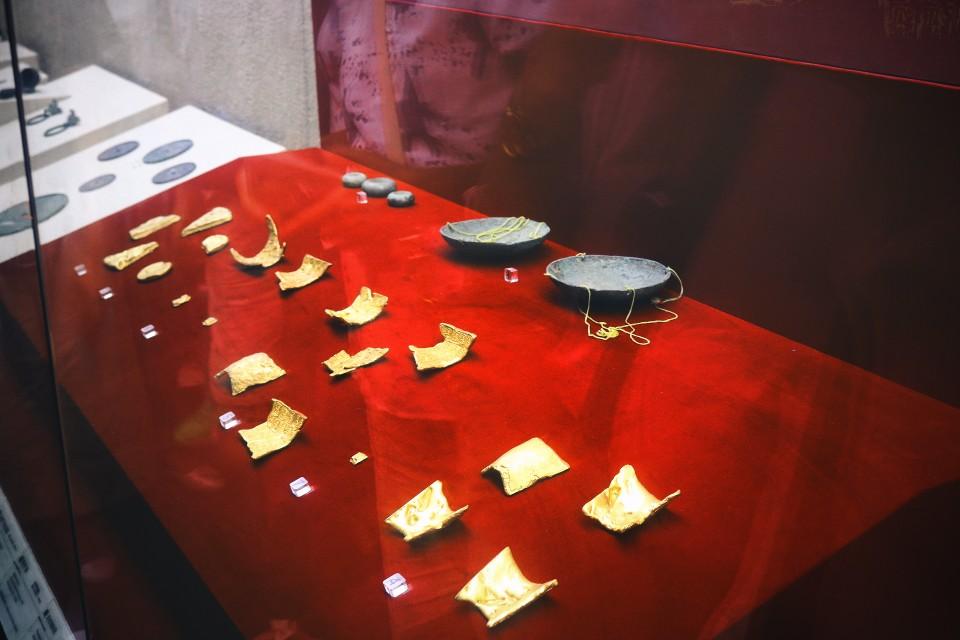 用來交易的金箔(圖片來源:陳浪提供)