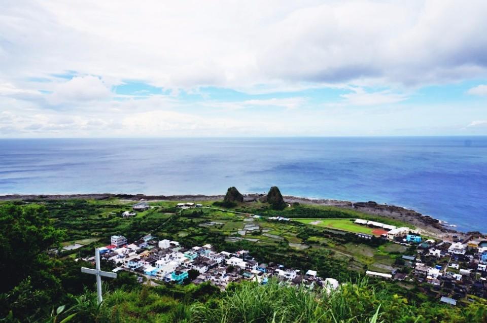 朗島祈禱山。(林郁姍/攝)