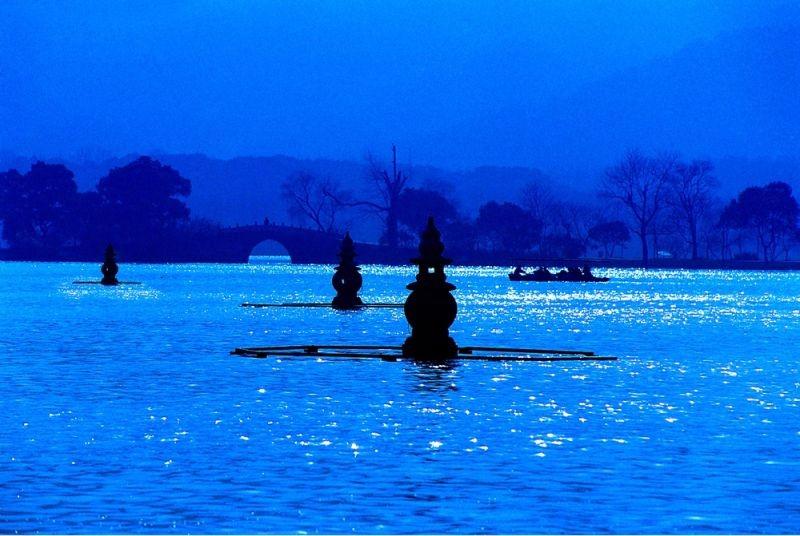 三潭印月(圖片/摘自閱讀杭州官網)