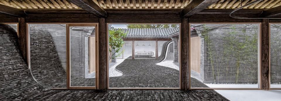 北京老四合院扭院兒,在建築師韓文強、黃濤改造下驚艷重生。