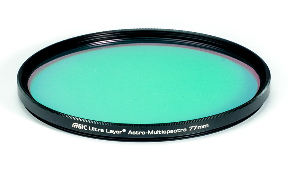 多波段光害濾鏡(Astro-Multispectra Filter) 圖/翻攝自STC官網
