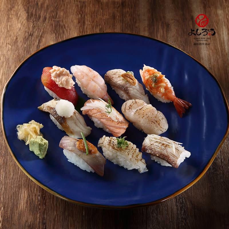 義郎的炙燒握壽司系列,看起來好美味!(圖片來源/義郎創作壽司粉絲團)