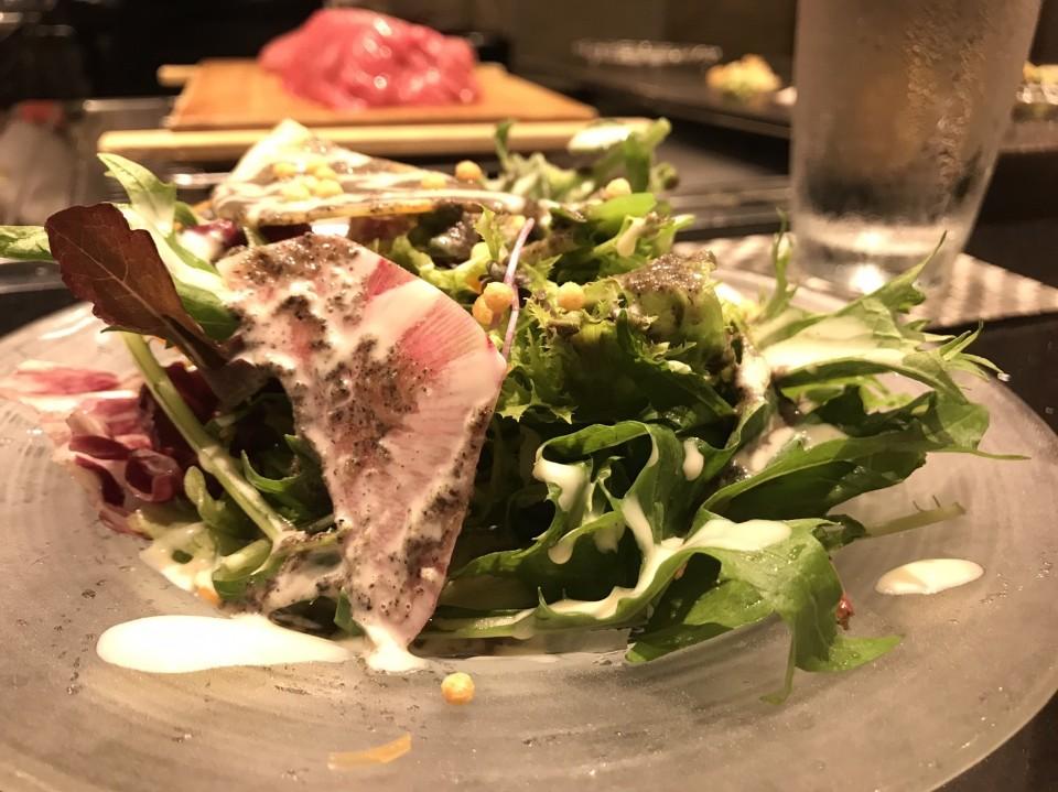 非常好吃的餐前沙拉/Eva小米提供