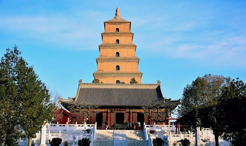 西安大雁塔。(圖片來源 百度)