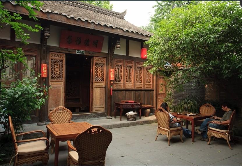 想體驗成都人悠閒的茶生活,來寬窄巷子就對了。(圖片來源欣傳媒)