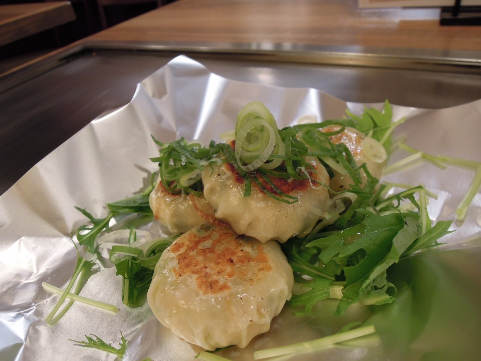 Kyoto Nishiki Warai 蝦餃子
